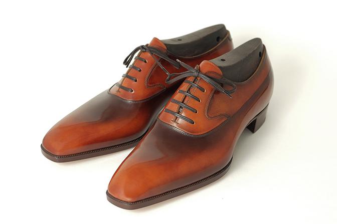 """紳士靴の""""万博""""、JAPAN靴博に出品される福田洋平さんによる靴"""